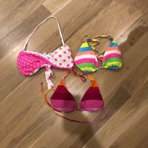 Other - 👙🏝3 women's L/XL bikini tops!!! ☀️ 🏝